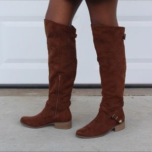 Mossimo Suede Brown Boot